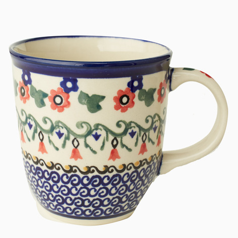 Poppy Boleslawiec Coffee Mug