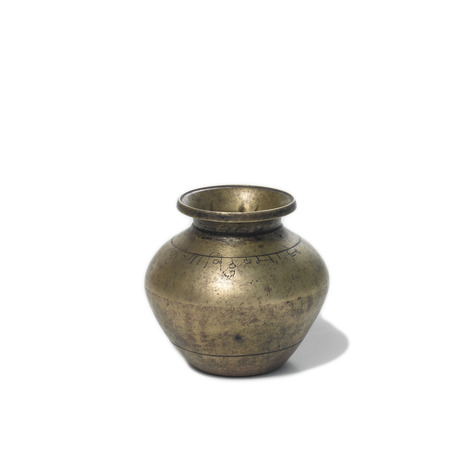 Antique Brass Vase