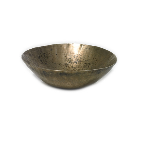 Brass Mother-of-Pearl Bowl