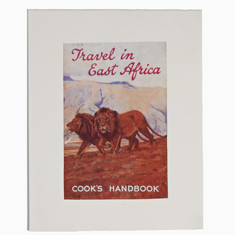 Cook's East Africa Poster