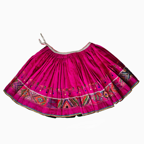 Embroidered Cholita Pollera
