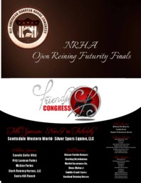 Nrha open futurity draw