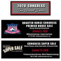 2020 All American Quarter Horse Congress to Offer Two Great Horse Sales