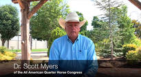 Exclusive with Dr. Scott Myers of the Quarter Horse Congress