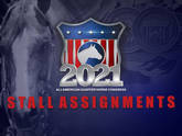 2021 Stall Assignments Now Available