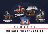 Congress Event Tickets Available Wednesday, June 28th