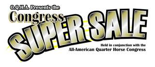 2017 Congress Super Sale and Congress Sale Stakes