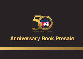 50th Anniversary Congress Memorabilia Book Presale opportunitiy