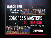 Congress Masters Entries Announced