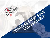2018 Congress Entry Book is Now Available