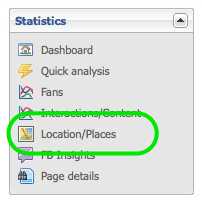 Facebook Location and Checkins