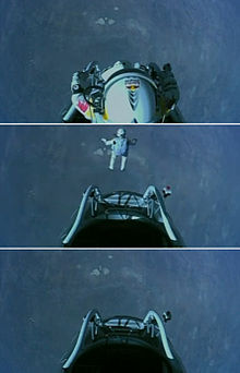 Red Bull Stratos - Baumgartner Jump