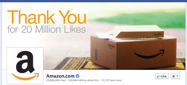 Example - Verified Amazon Facebook Page