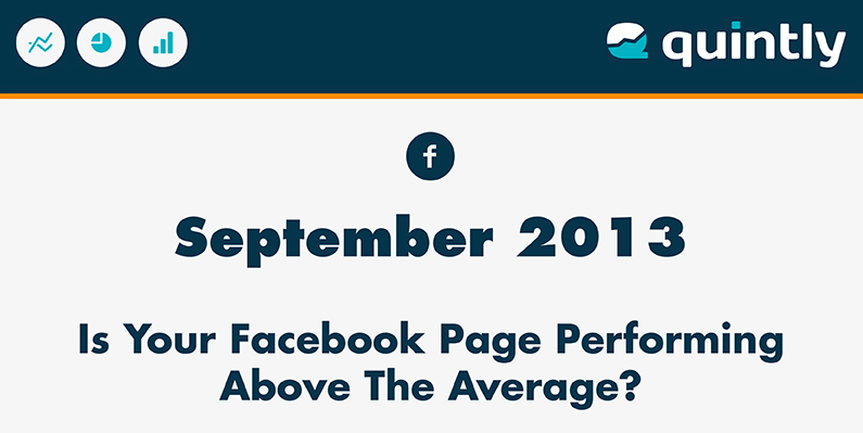 Average Facebook Page Performance September 2013