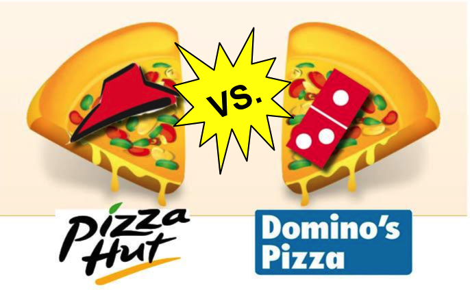 Domino's Vs. Pizza Hut: Crowning the Fast-Food Pizza King