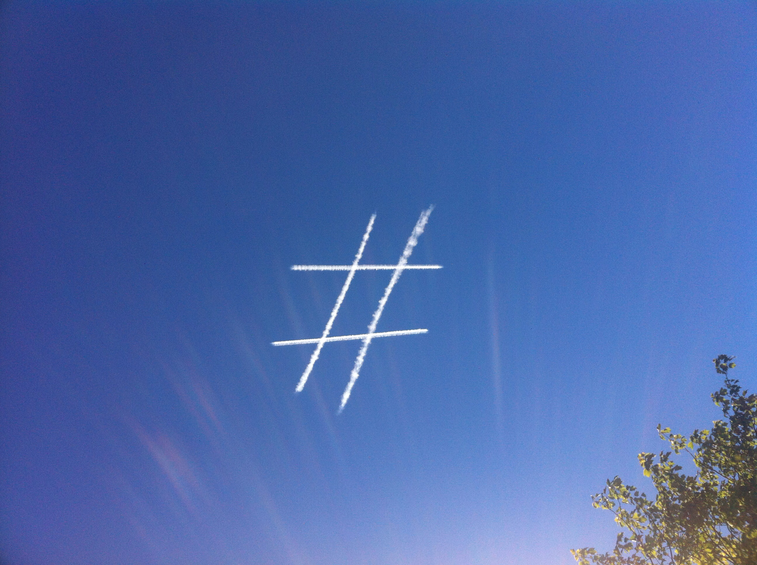 Hashtag In The Sky