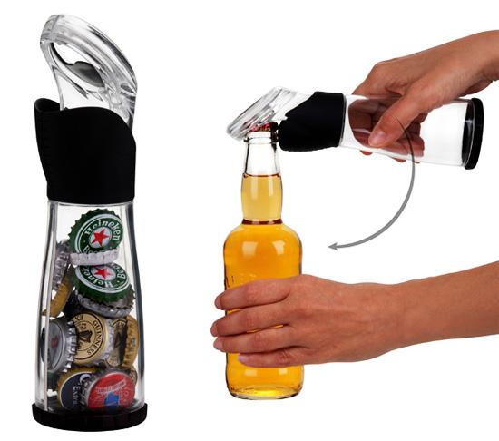 Beer-cap-catcher