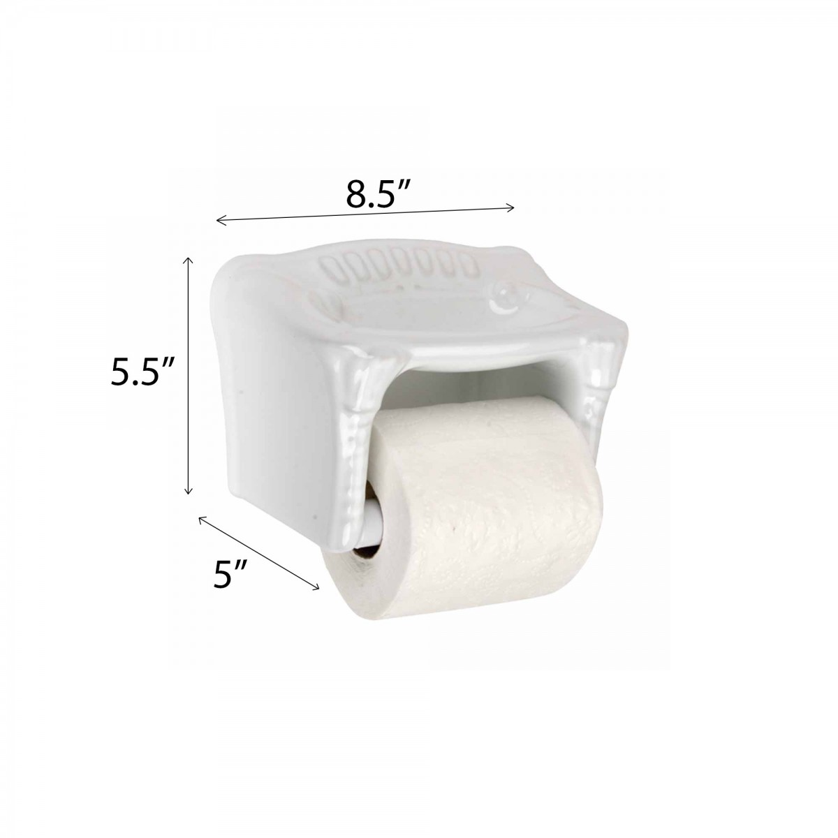 spec toilet paper holder white ceramic porcelain tissue holder