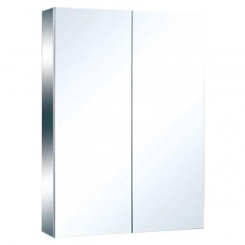 Stainless Steel Medicine Cabinet Double Mirror Door Large