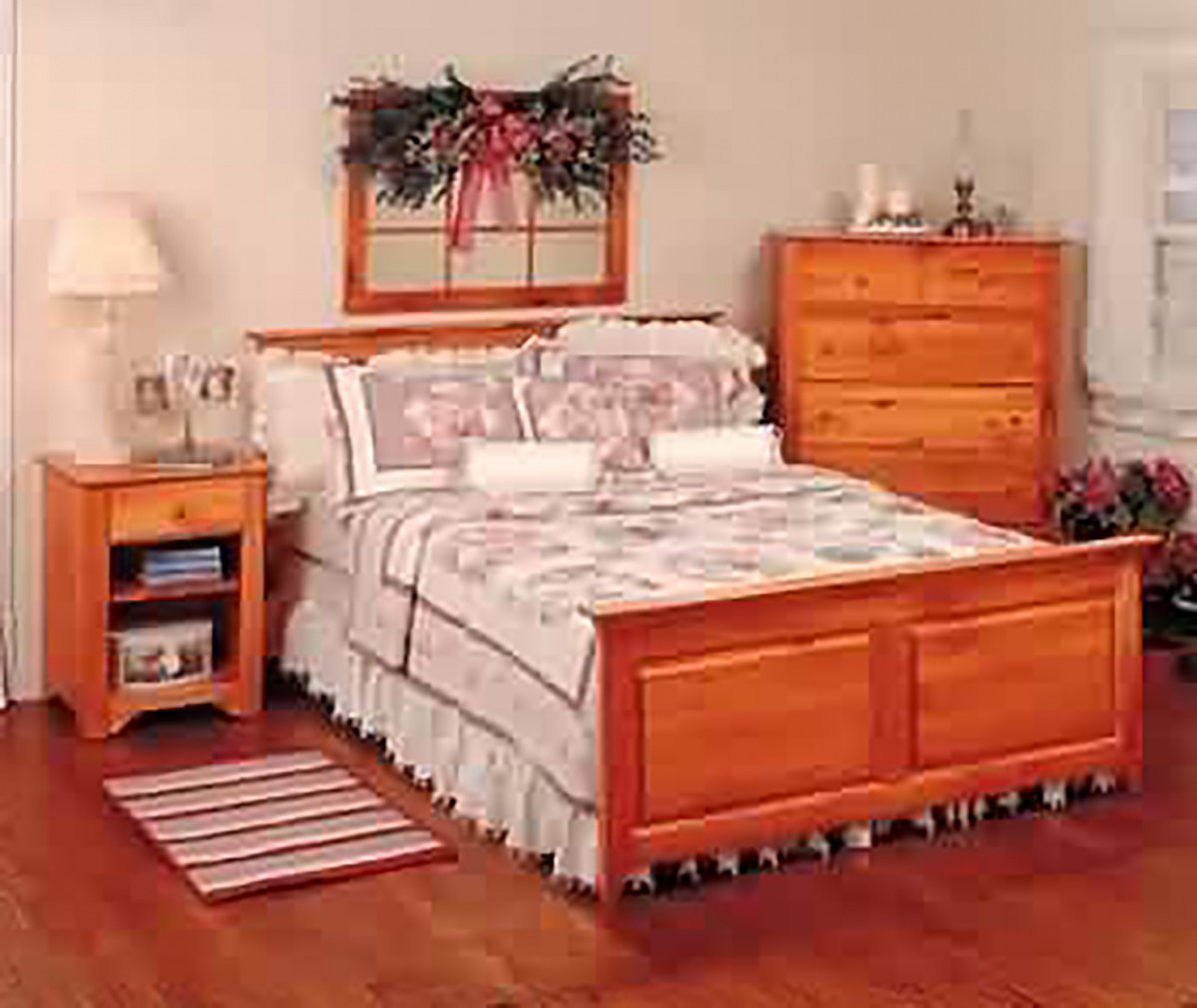 Footboard unfinished pine twin footboard 45 5 w for Twin footboard