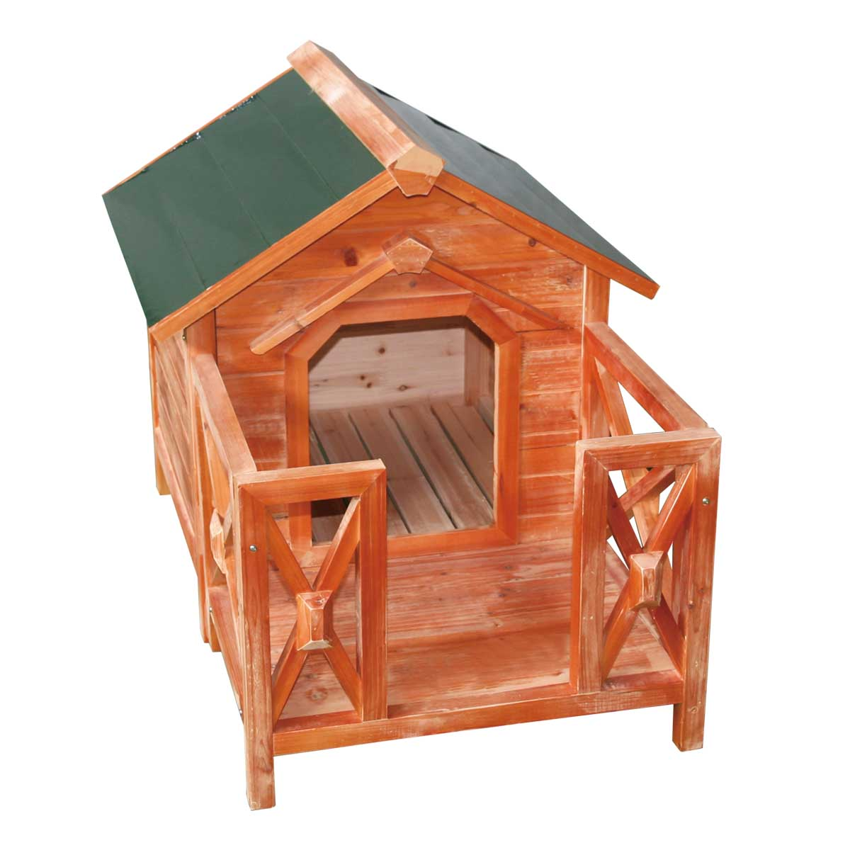 Very Impressive portraiture of Details about Wood Dog House Outdoor Wooden Pet Shelter Bed M w/ Porch  with #AB5420 color and 1200x1200 pixels