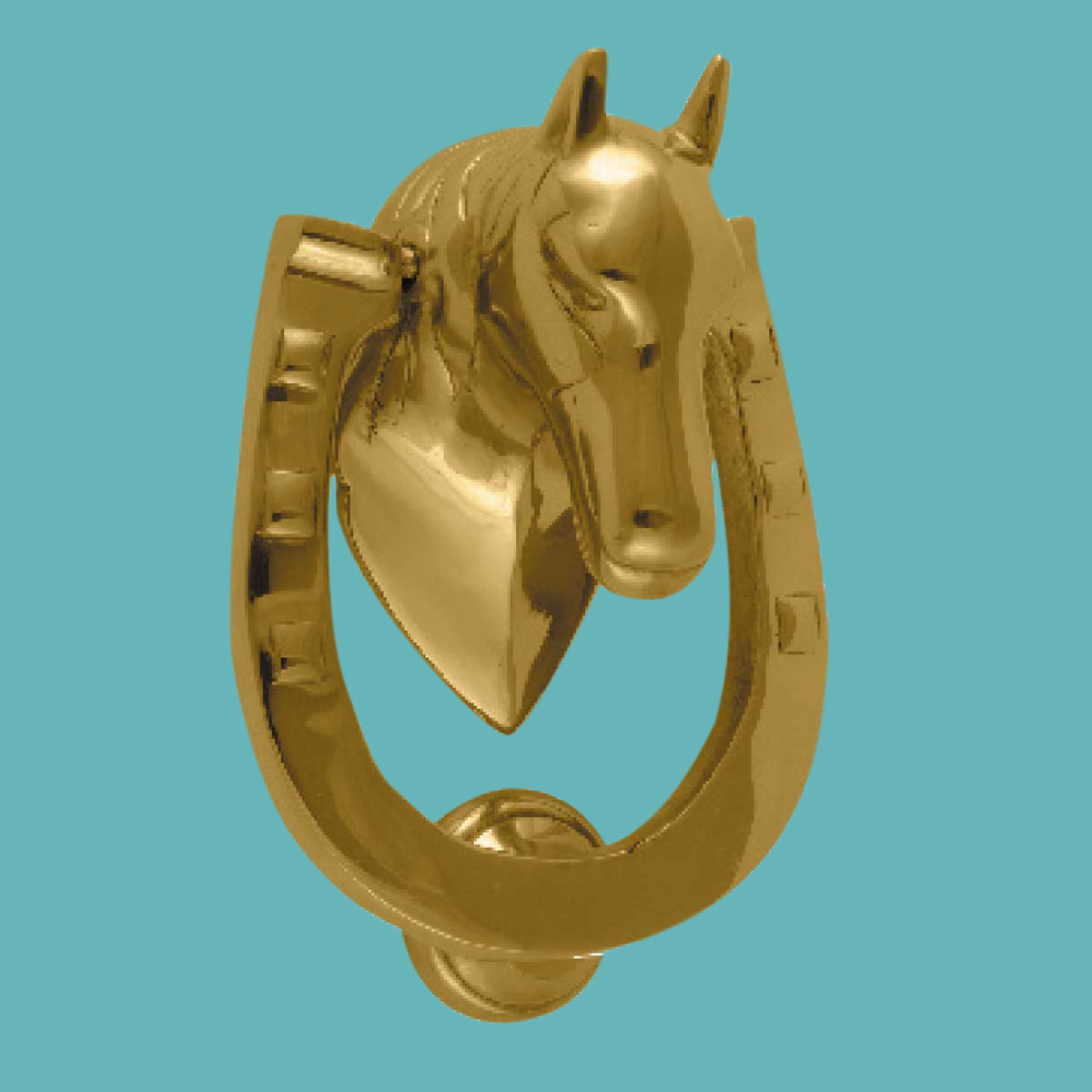 Door Knocker Horse Head Iron Brass Chrome 5 1 4 H X 4 W Renovator 39 S Supply Ebay