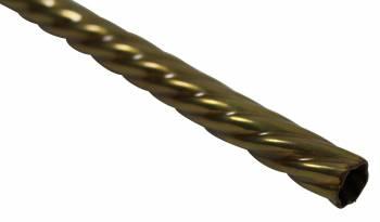 Spiral Stair Carpet Rod Tubing 1/2