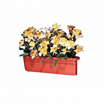 The Renovators Supply Planter Terra Cotta Plastic Outdoor Planter 20