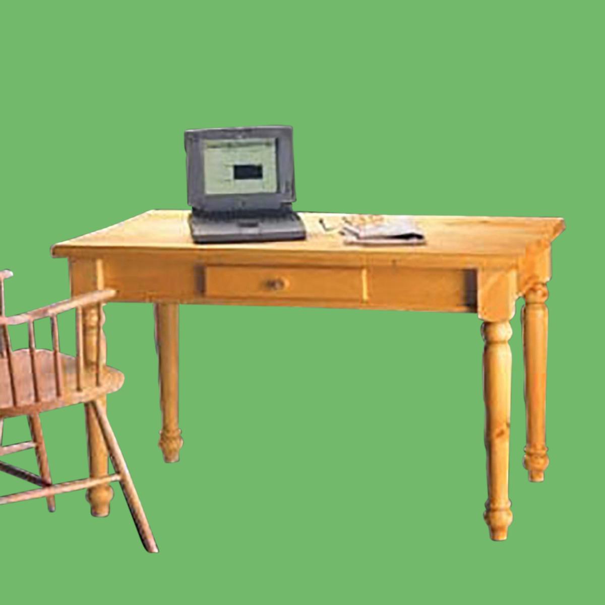 Office Desk Heirloom Solid Pine Desk 28 3 4 H