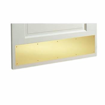 Door Kick Plate Gold Stainless Steel PVD 6