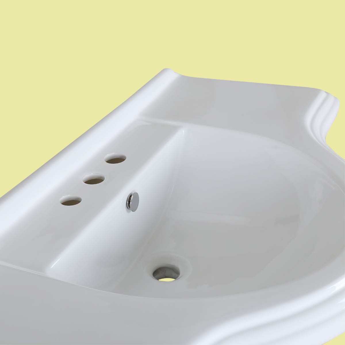 home bathroom pedestal sinks large deluxe pedestal sinks