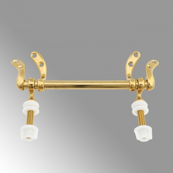 Toilet Seat Hinge Gold PVD Brass Replacement Hinge