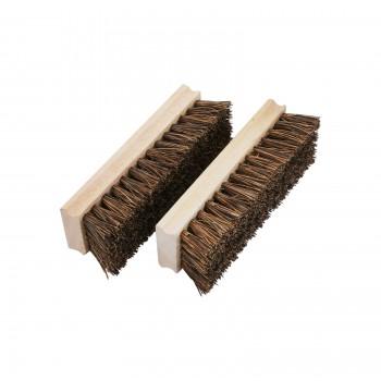 Boot Scraper Natural Wood Replacement Bristle Brush