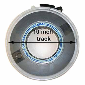 Magnetic Tape  10 inch Track Reel