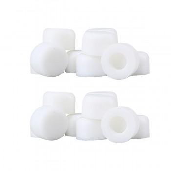2 - 10PK Premium Silicone White Door Stopper Tips 1/4