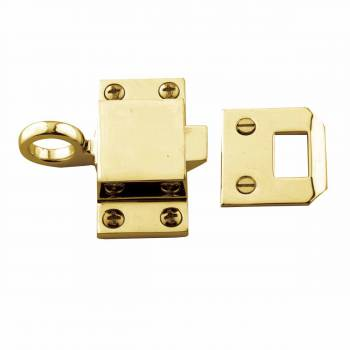 Bright Solid Brass Transom Window Latch