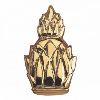 Door Knocker Pineapple Lacquered Solid Brass  6