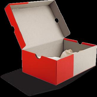 Empty Nike Shoes Box