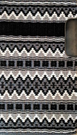 Black, Dove Grey, Charcoal Grey, Black Metallic and White 35x42