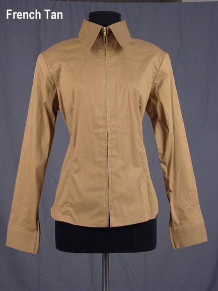 Fitted Shirt - French Tan