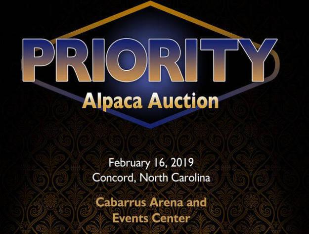 2019 Priority Alpaca Auction