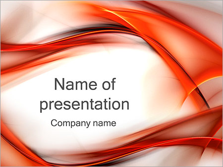 Red PowerPoint Templates and Backgrounds for Your