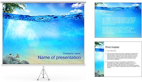 Ocean powerpoint template
