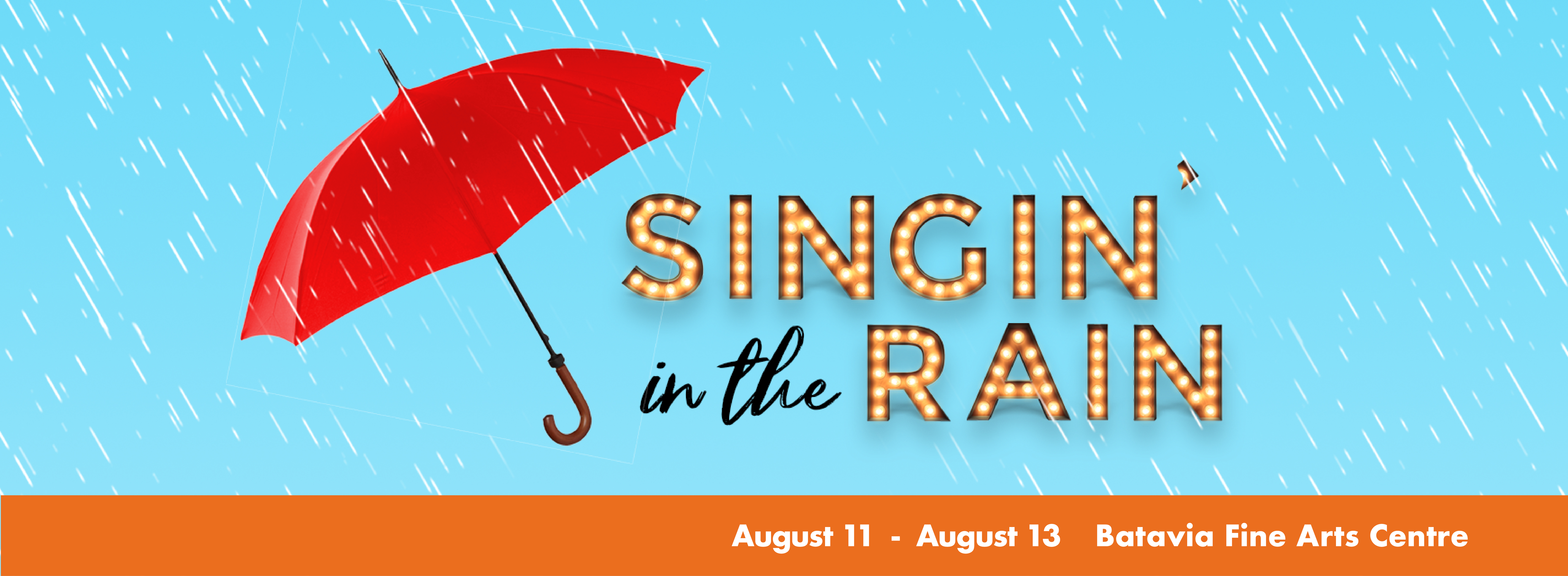 Spotlight Youth Theater Summer Show - Singin' in the Rain