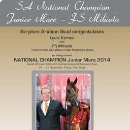 SA National Champion
