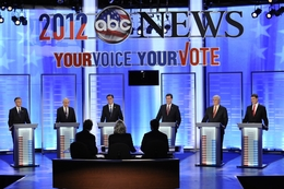 ABC, Yahoo! News and WMUR-TV host a Republican primary debate at Saint Anselm's College in Manchester, NH.