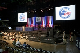 Corpus Christi, June 25, 2010. Democrats at the state convention.