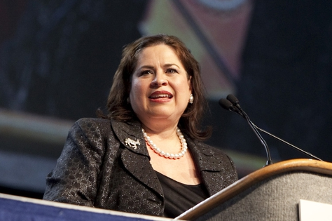 State Sen. Leticia Van de Putte, D-San Antonio, at the Texas Democratic convention on June 26, 2010.
