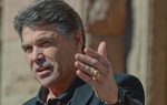 Gov. Rick Perry, the keynote speaker at The Annual Texas Rally for Life at the Capitol on  January 22, 2011.