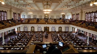 The Texas Capitol in the twilight of the 82nd legislative session.